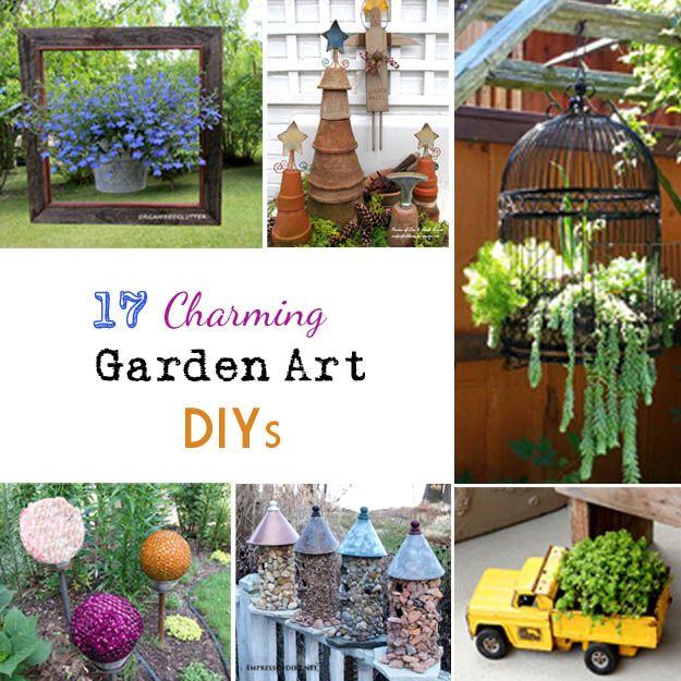 Community Post: 17 Charming Garden Art DIYs