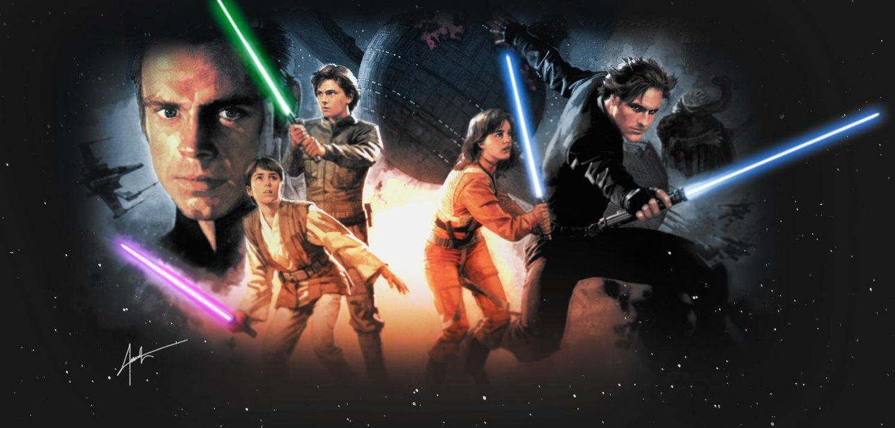 Star Wars Jedis Of New Jedi Order By Darthtemoc