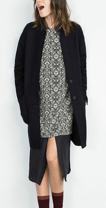 Women's Wide-lapel Oversize Wool Coat