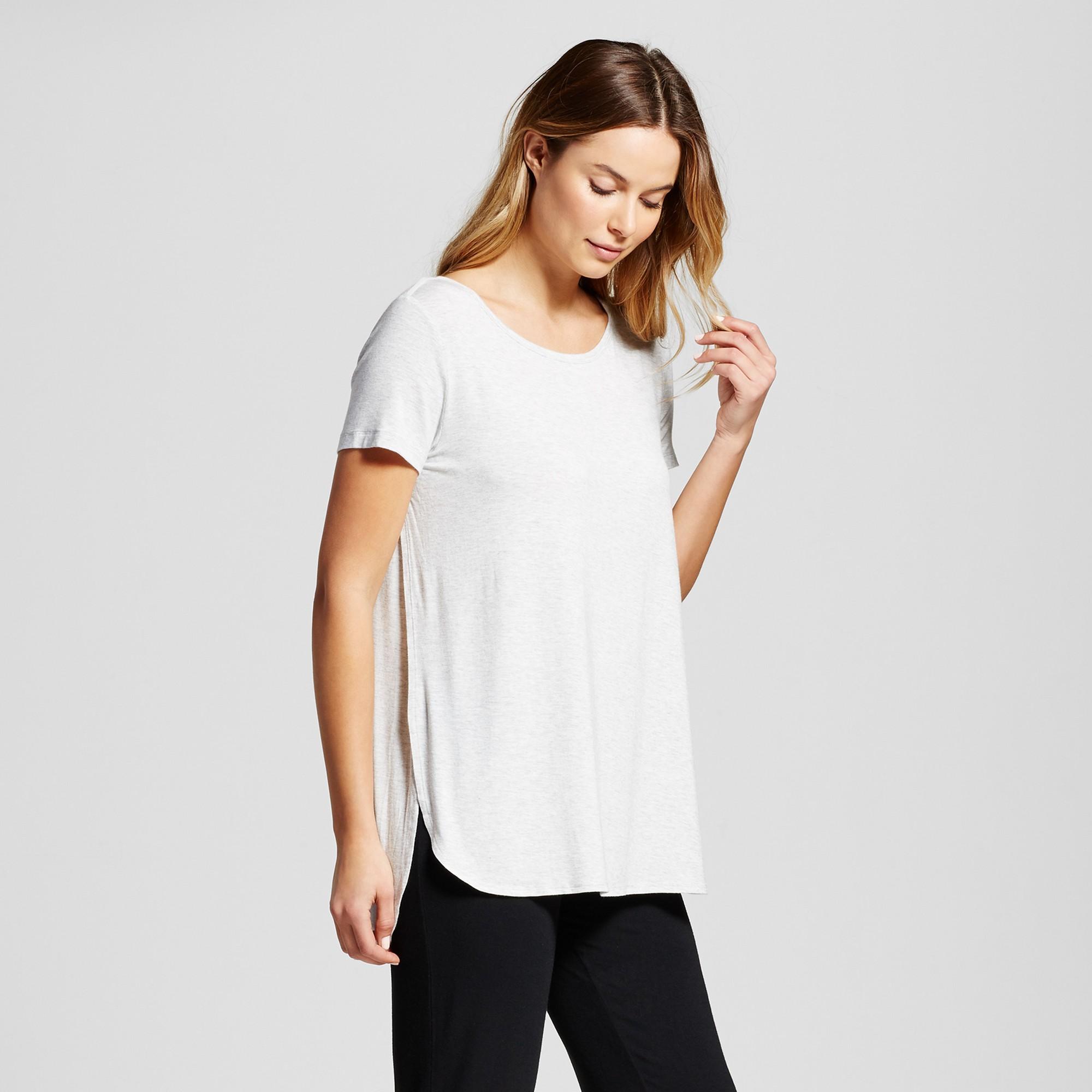 07660cd69ee6e Maternity Nursing Sleep T-Shirt - Light Gray S