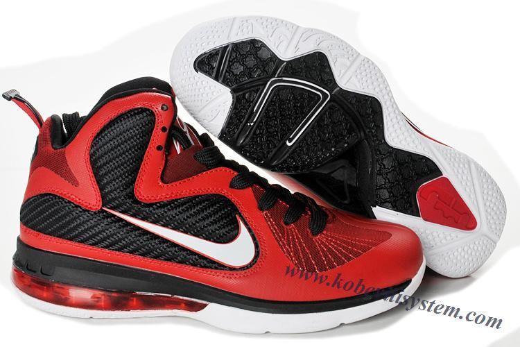 cheap for discount 2f473 a37de Nike Lebron 9 Red White Black 469764 600