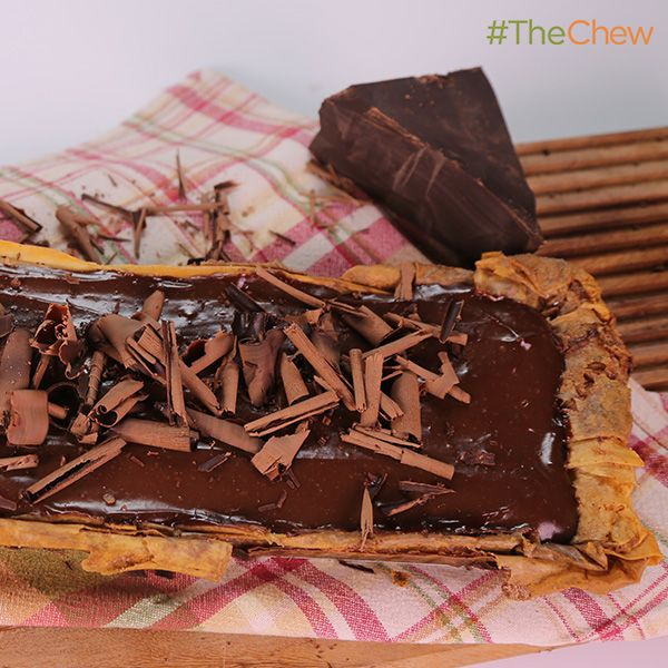 Chocolate Phyllo Tart By Carla Hall Thechew Yummy Food Dessert