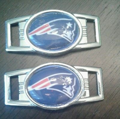 Patriots SHOELACE charms