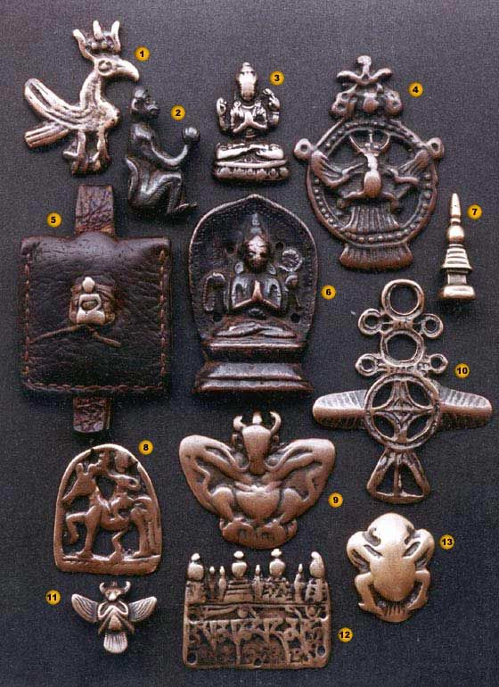 Ancient Amulets from Tibet - Thogchags