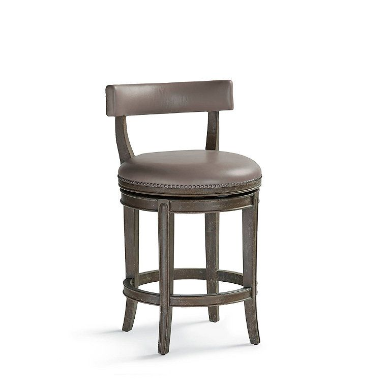Henning Low Back Counter Stool 26 Counter Stools Swivel