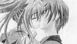 Resultado De Imagen Para Imagenes Animes De Amor A Lapiz Derzkie Fotografii Fotografii