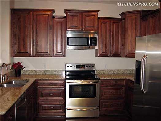 Rich Macchiato Kitchen Cabinets Kitchen Cabinets Kitchen Inexpensive Kitchen Cabinets