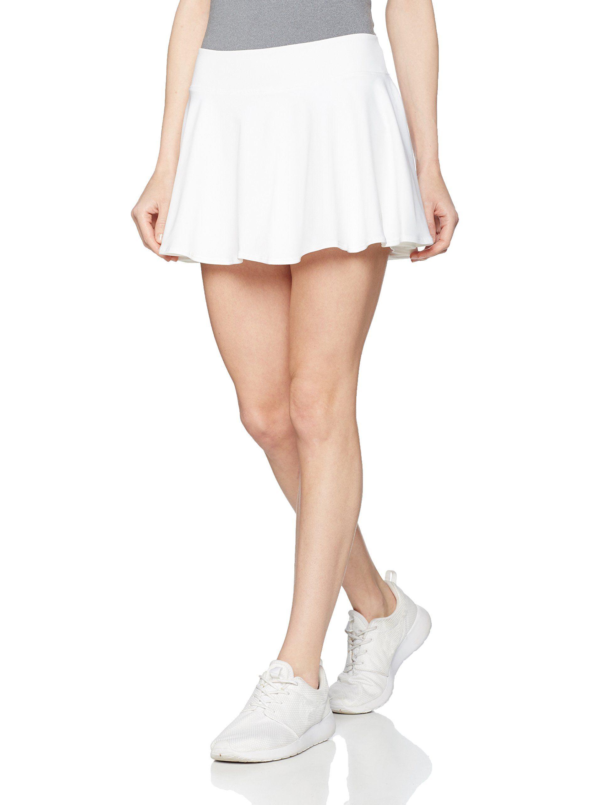 b047f1ceadf Danskin Now Womens Plus Size Adjustable Waist Hidden Pocket Basic Knit Skort