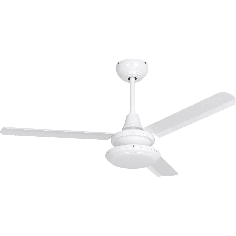 Ventilateur De Plafond Acier Breva Inspire Blanc 20 W En 2020 Ventilateur Plafond Plafond Et Ventilateur