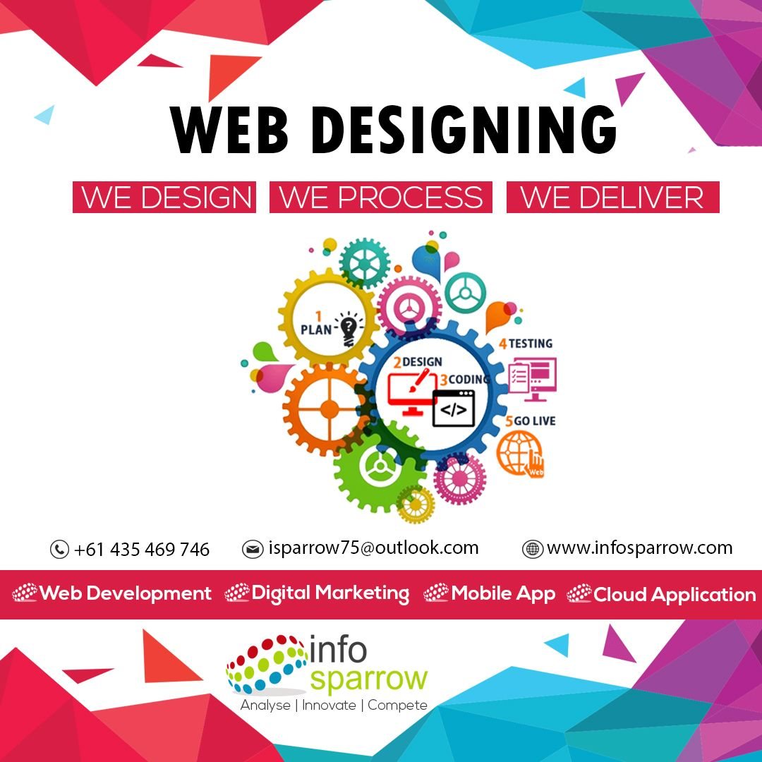 Infosparrow Will Simply Make Use Of The Creative Techie Minds And Convert Your Business Website Into Custome Web Design Web Development Web Development Company