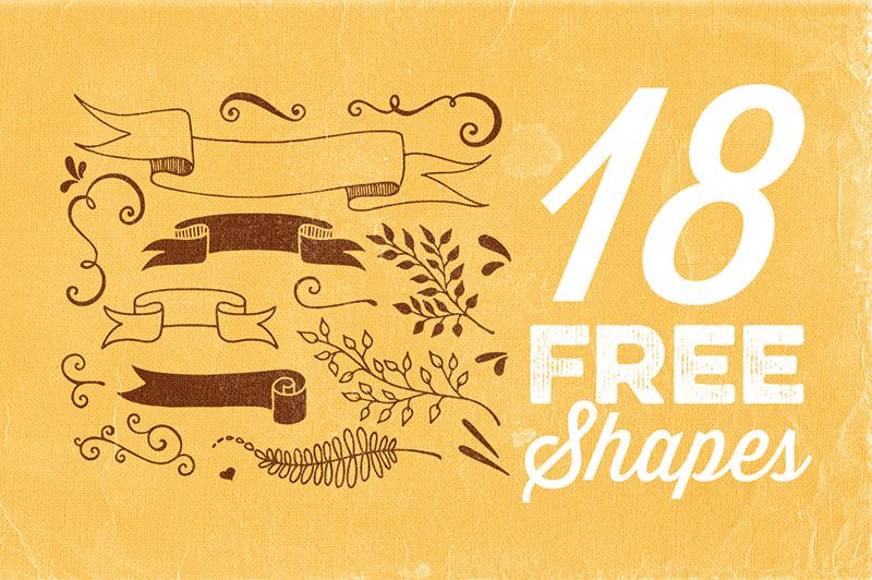 18 Free Hand Drawn Shapes (With images) Free hand