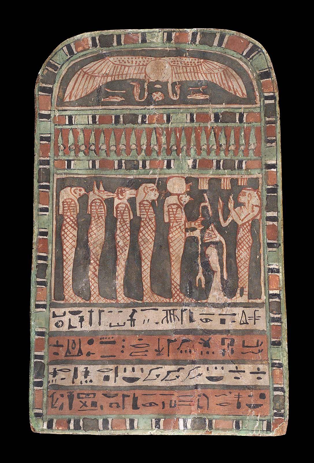 Funerary stele of Shepen-Bastet | Museum of Fine Arts, Boston