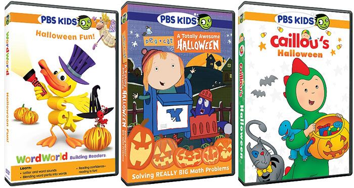 Pbs Kids Halloween Dvd.Three New Pbs Kids Halloween Dvds Are About To Bring The Treats