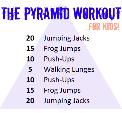 Theres No Core Muscle Work In This So Id Add Some Sit Ups Curl Planks Et Cetera Depending On The Age Group