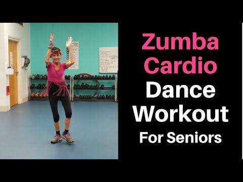 Zumba Cardio Workout For Seniors Senior fitness, Cardio
