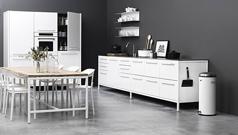 White Kitchen Universe by Vipp
