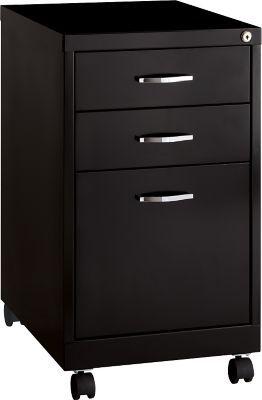 hirsh industries 3 drawer vertical file cabinet mobile black rh fi pinterest com