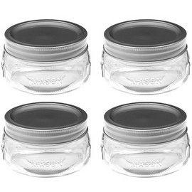 Ball 61162 half-pint wide mouth mason jars. 8 oz. Half Pint Canning Jars - Canning/Mason Jars & Lids - By Ball #61162 - 014400611629 at Goodman's Small Appliances Housewares and Parts