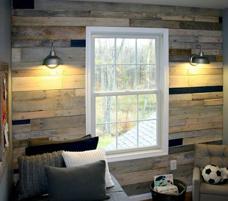 Image Result For Reclaimed Wood Walls With Window