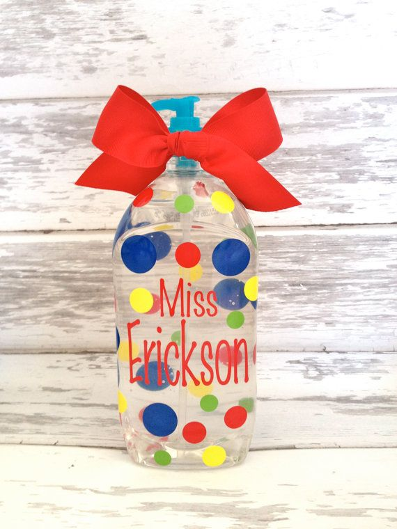 Personalized Jumbo 40 Ounce Hand Sanitizer By Monkeyseeboutique