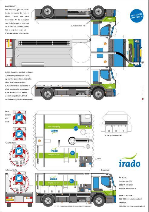 Yorlogonl Bouwplaat Truck Met