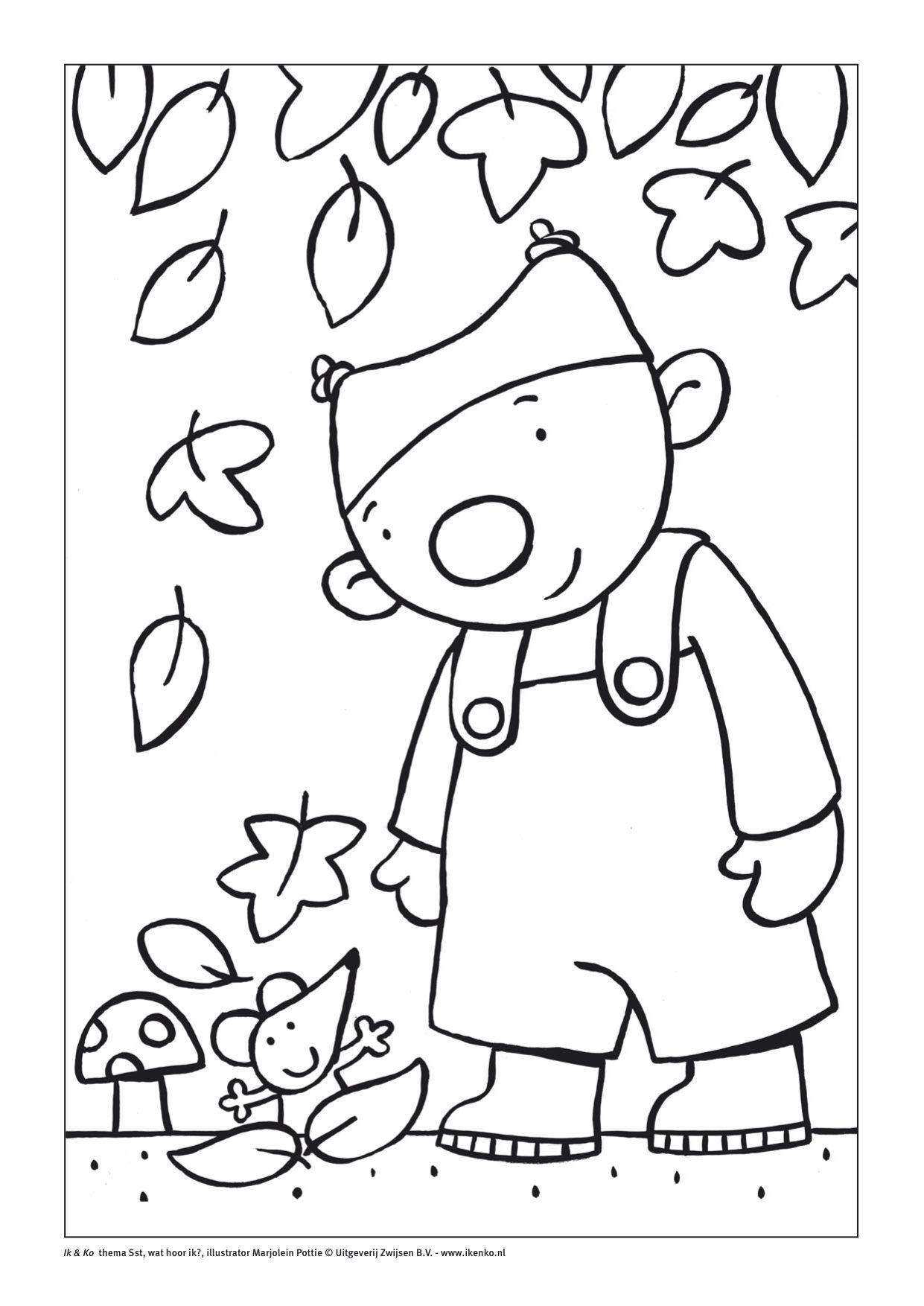 Afbeeldingsresultaat Voor Ik En Ko Kleurplaat Kleurplaten Ramen Verven Voor Kinderen