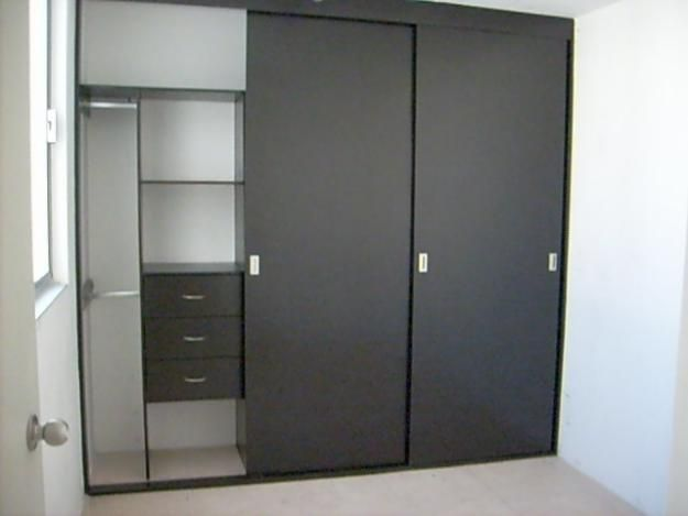 Closets modernos wood pinterest closets modernos for Puertas corredizas modernas
