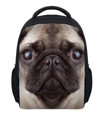 """12/"""" Animal 3D Kids Boys Girls Pre School Bag Children Backpack Rucksack"""