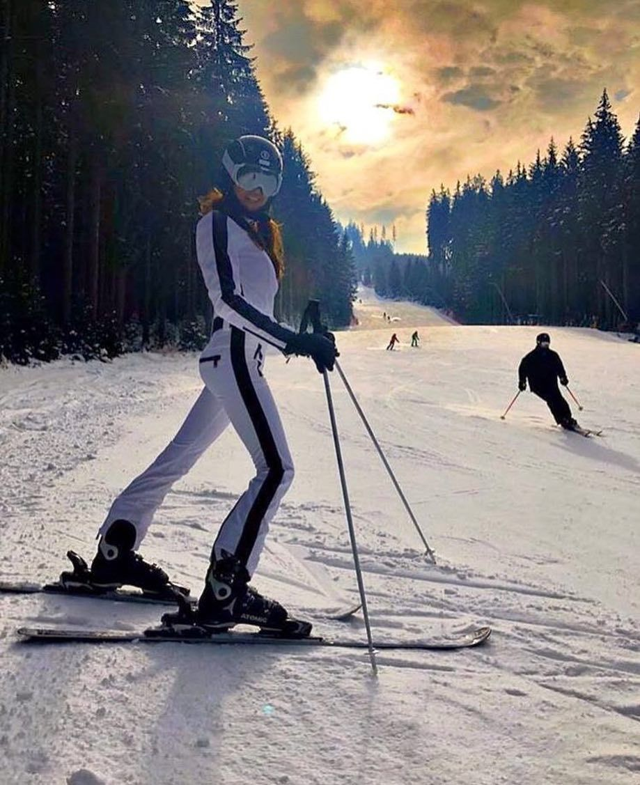 Ski Style Edits On Instagram Sunday On The Slope In Our Favourite Phoenix Ski Suit Element Helmet Skisty Skiing Outfit Skiing Photography Ski Girl