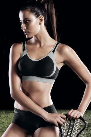 Anita Active sports bras are a perfect blend of design and function and have received awards for their outstanding design and unsurpassed fit. All Anita bras incorporate outstanding features and unrivaled perspiration management. Anita Active sports bras offer optimal support and comfort, more like a second skin than a bra.