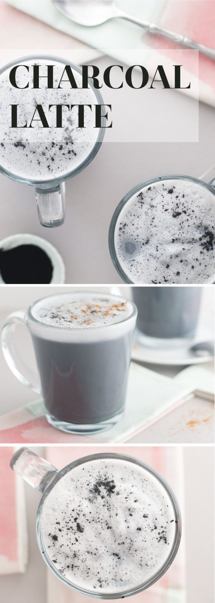 Activated Charcoal Latte -- Let your inner-goth squeal with this black charcoal latte! It's all you need to detox and feel great. Activated charcoal has amazing benefits for the inside and out and when paired with almond milk, makes a delicious and healthy beverage! - mindfulavocado Charcoal Latte -- Let your inner-goth squeal with this black charcoal latte! It's all you need to detox and feel great. Activated charcoal has amazing benefits for the inside and out and when paired with almond milk, makes a delicious and healthy beverage! - mindfulavocado