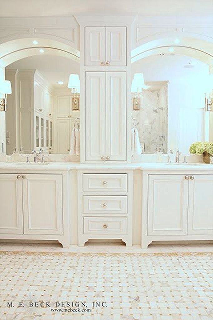 Oh The Cabinetry Modern Bathroom  Pinterest  Bath Master Endearing Bathroom Cabinets Design Design Decoration