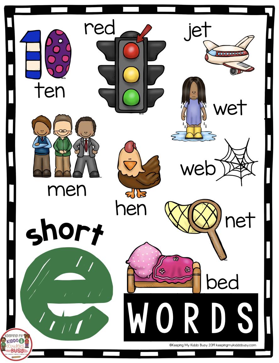 Phonics Unit 4 Cvc Words Word Families Freebie Keeping My Kiddo Busy Cvc Words Kindergarten Phonics Kindergarten Phonics [ 1154 x 888 Pixel ]