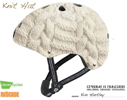 Knit Bike Helmet D Not Actually A Real Helmet But Wouldn T It