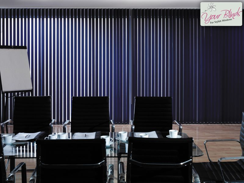 Achieve A Professional Office Look With These Vertical Blinds Www Your Co Uk