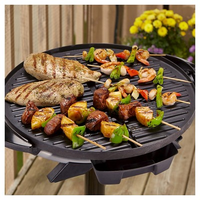 George Foreman 15 Serving Indoor Outdoor Electric Grill Silver Gfo240s In 2021 Indoor Outdoor Grill Grilling Recipes Outdoor Electric Grill