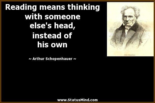 schopenhauer quotes - Google Search   Wisdom/ Knowledge ...