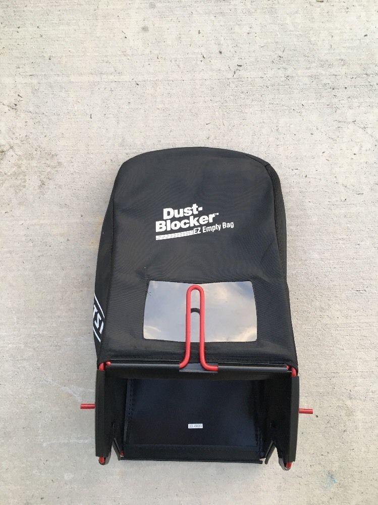 Craftsman Dustblocker Ez Empty Lawn Mower Grass Catcher Bag Gsg 439332 Care Ebay
