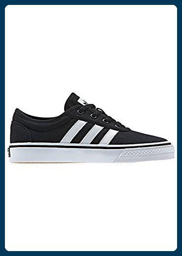 adidas Unisex-Kinder Adi-Ease J Skateboardschuhe, Verschiedene Farben (Negbas/Ftwbla/Negbas), 39 1/3 EU - Sneakers für frauen (*Partner-Link)