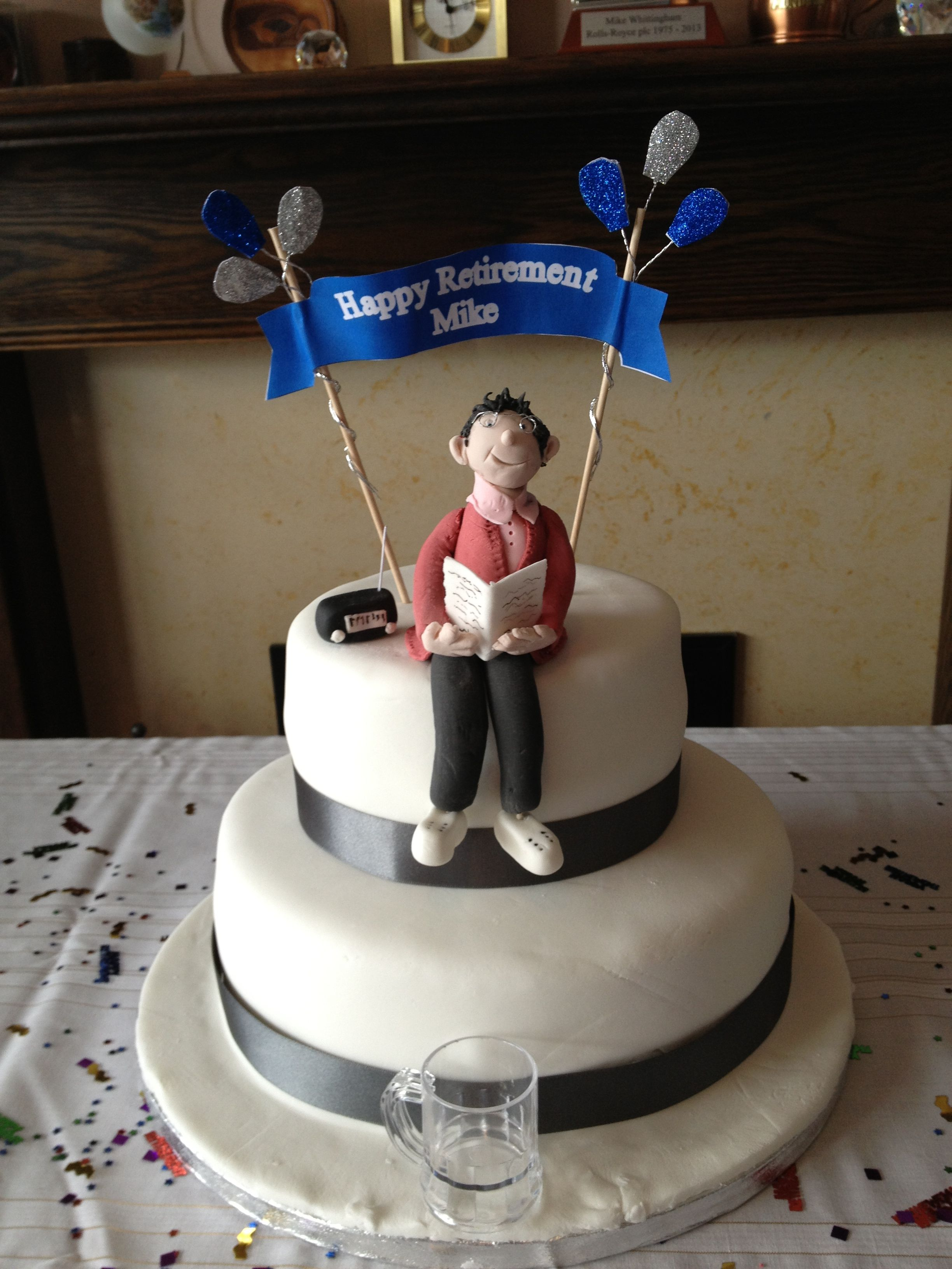 Dads retirement cake retirement cakes cake desserts