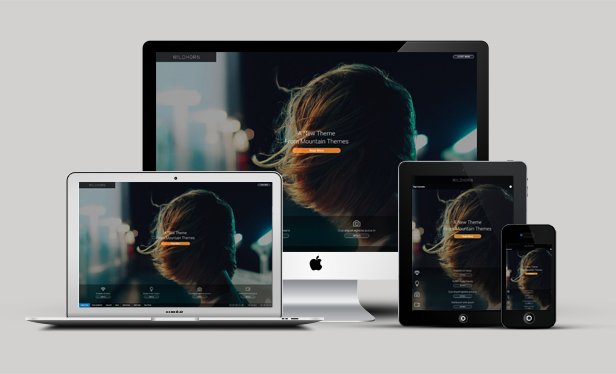 Wildhorn, WordPress FullScreen Retina Ready Portfolio Theme | WP Download