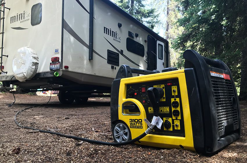 Portable Generator For An Rv Travel Trailer Camping Best