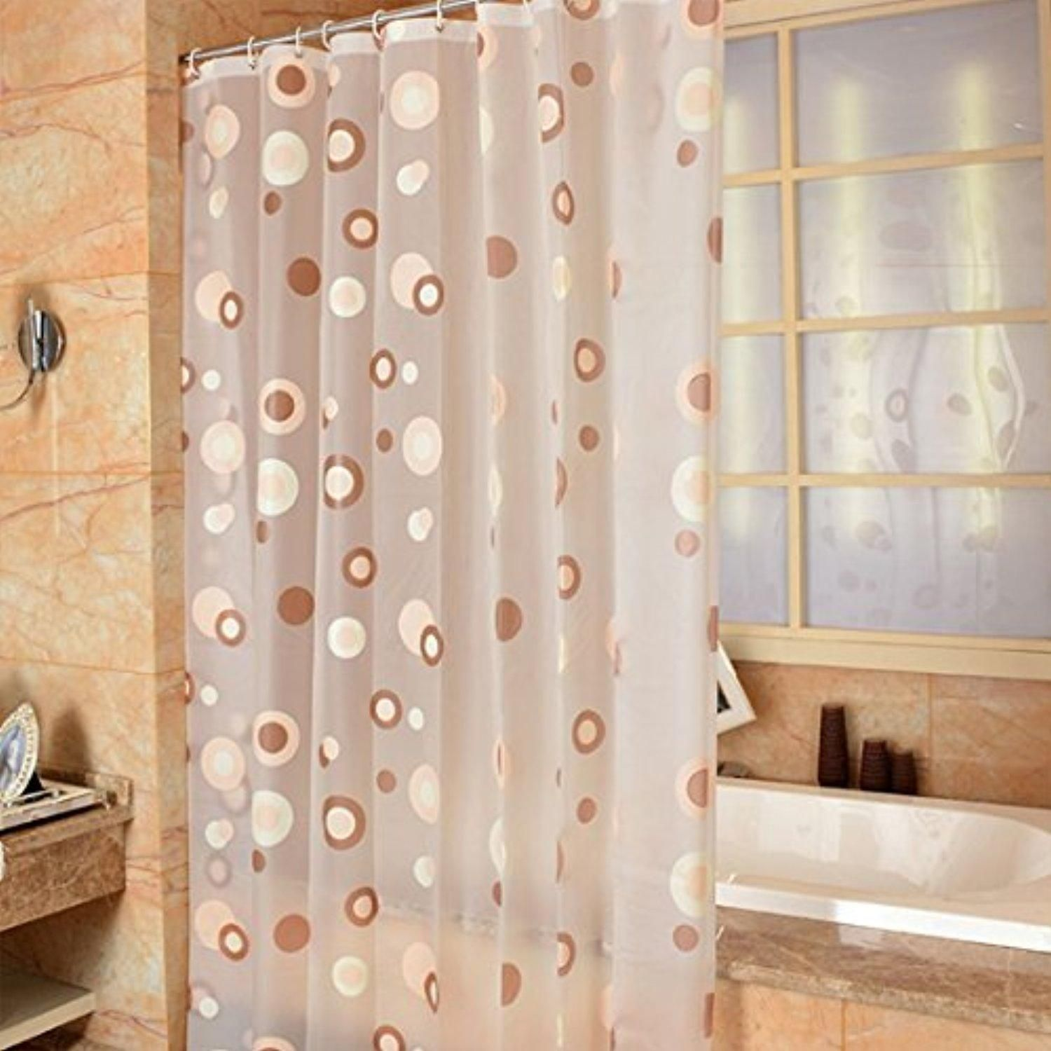 Hoomall Bath Shower Curtain Liner Waterproof Mildew Resistant for ...