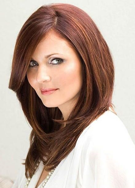 Long Hairstyles For Round Faces Brilliant 5 Most Flattering Haircuts For Round Faces  World's Best Hairstyles