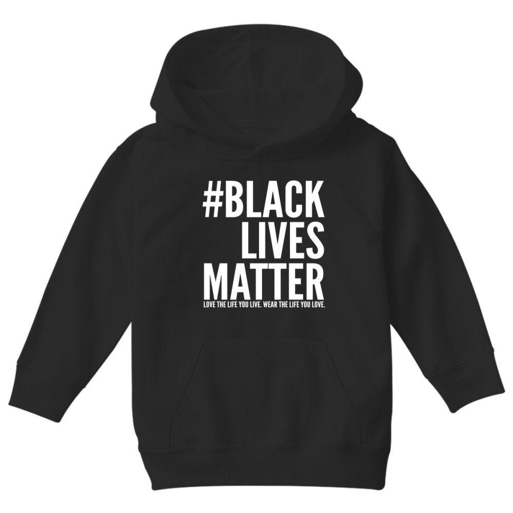 Black Lives Matter Kids Hoodie