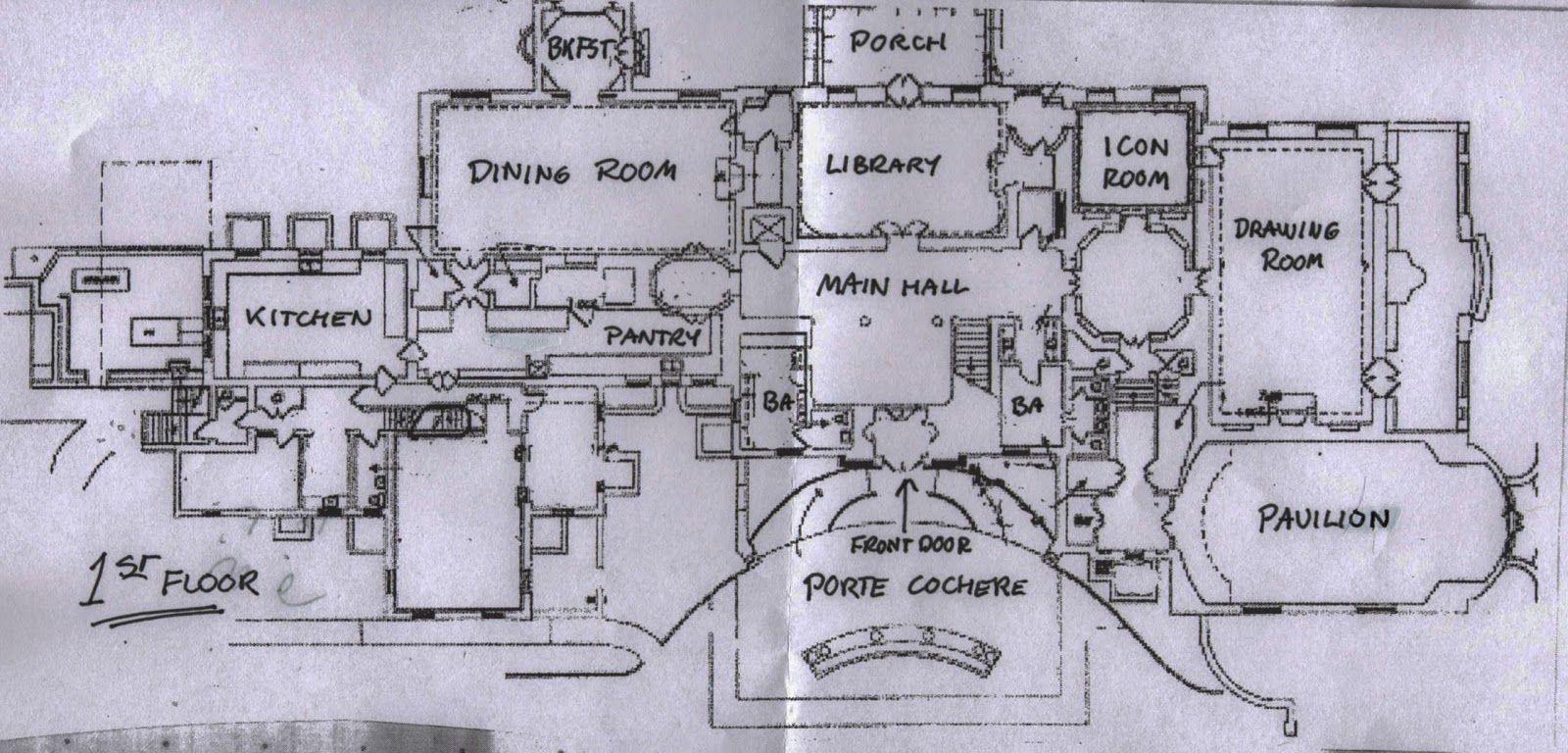 Hillwood First Floor Plan Washington Dc Floor Plans House Floor Plans How To Plan