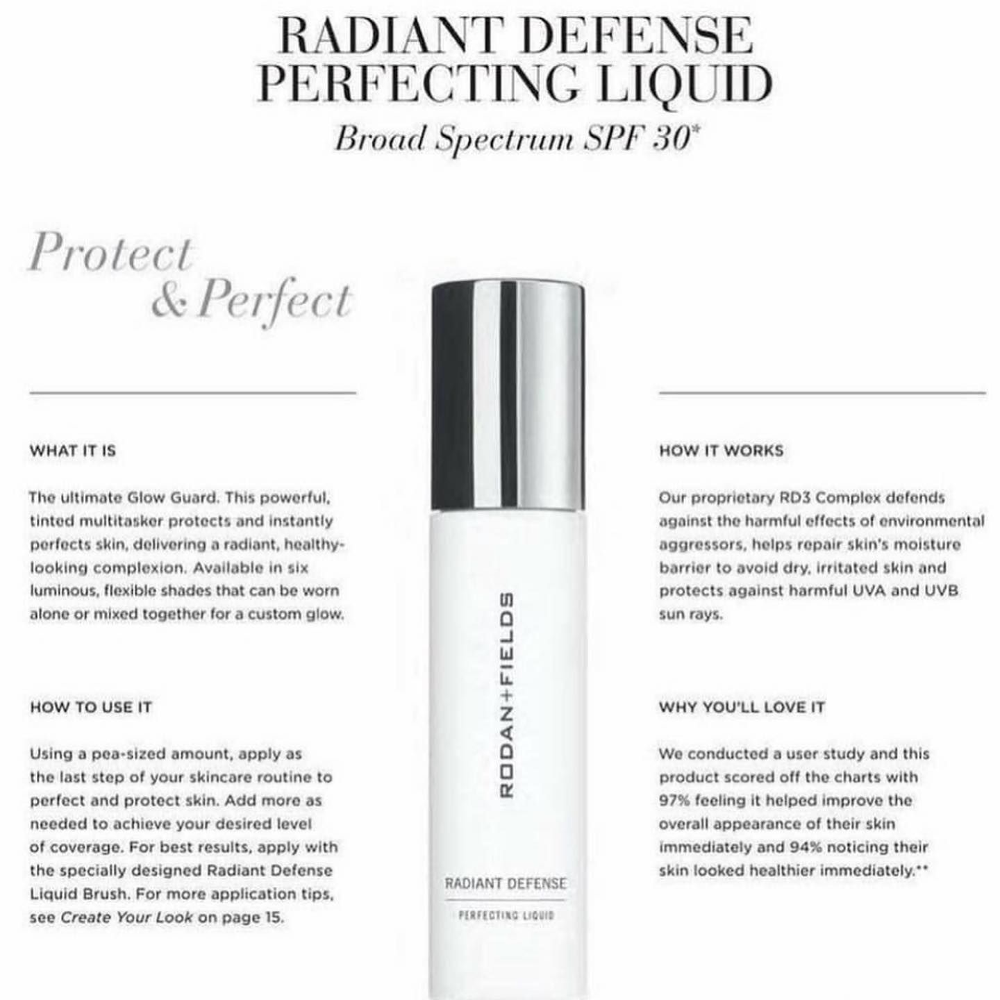 Radiantdefense Is The Perfect Way To Keep Your Skincareroutine From Being Counterproductive Founda Rodan And Fields Skin Care Secrets Life Changing Skincare