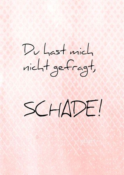 Happy write schade spr che spr che zitate und - Design zitate ...