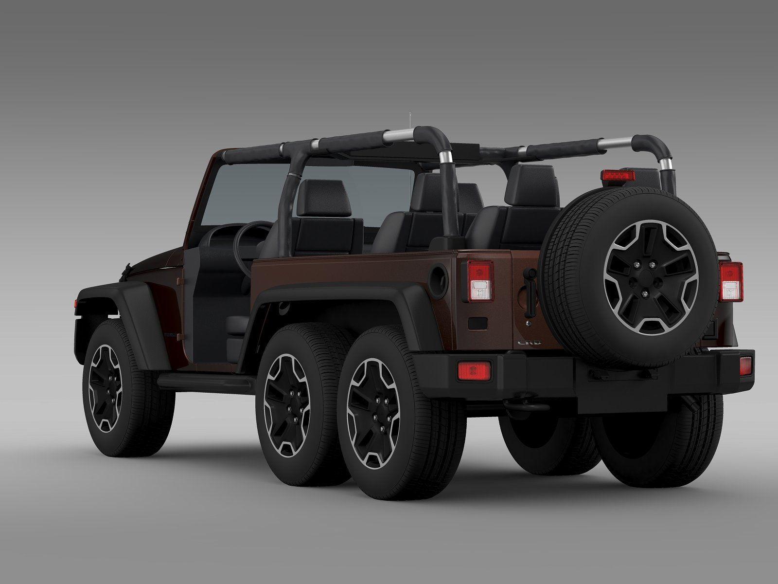Jeep Wrangler Rubicon 6x6 2016 Jeep Wrangler Rubicon Wrangler Rubicon Jeep Rubicon