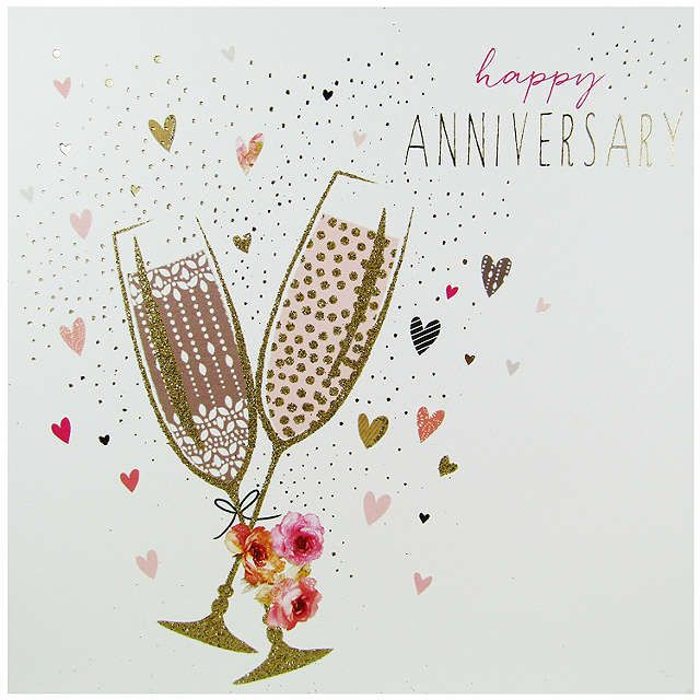 Portfolio Champagne Happy Anniversairy Card Happy Anniversary Cards Happy Anniversary Wishes Cards